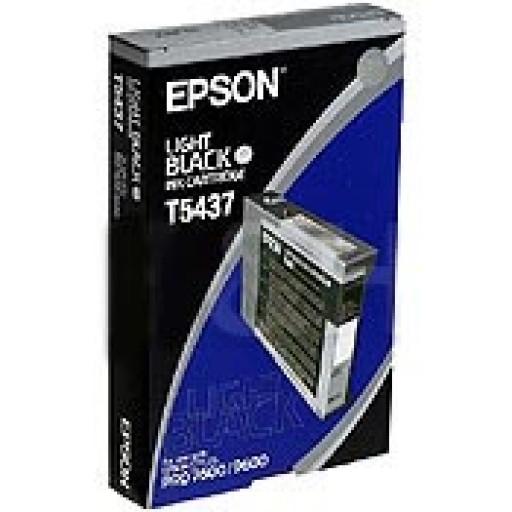 Epson T5437 Ink Cartridge - Light Black Genuine