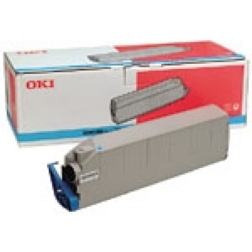 Oki 41963607, Toner Cartridge Cyan, C9300, C9500- Original