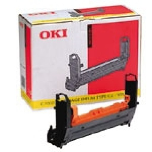 Oki, 41962805, Image Drum Unit- Yellow, C7100, C7300, C7350, C7500- Original