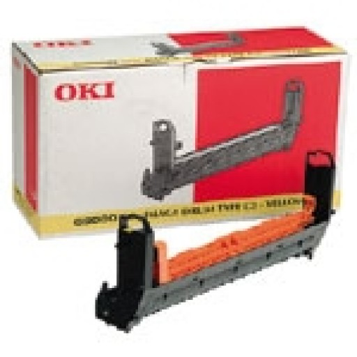 Oki 41963405 Image Drum Unit, Yellow, C9300, C9500 - Genuine