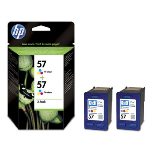 HP C9503AE No.57 Ink Cartridge - HC Tri-Colour Multipack Genuine