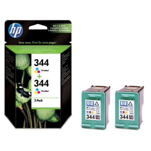 HP C9505EE No.344 Ink Cartridge - HC Tri-Colour Multipack Genuine