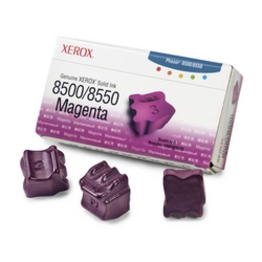Xerox 108R00670, Solid Ink Sticks- 3 x Magenta, Phaser 8500, 8550- Original