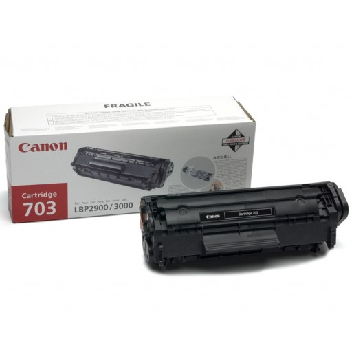 Canon 7616A005AA, Toner Cartridge- Black, LBP2900, LBP3000- Original