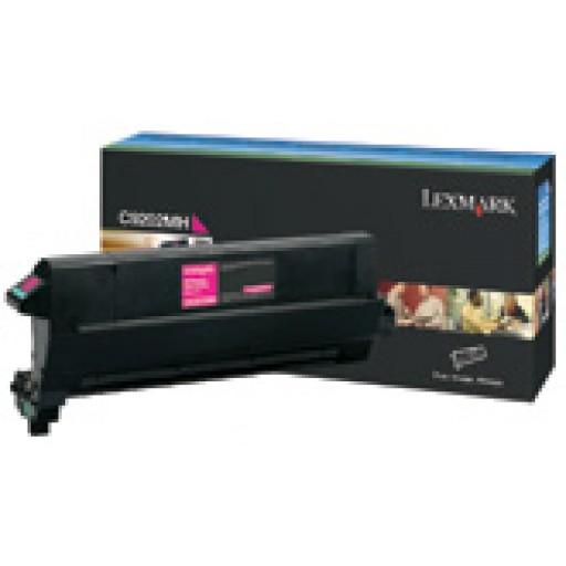Lexmark C9202MH, Toner Cartridge Magenta, C920- Original