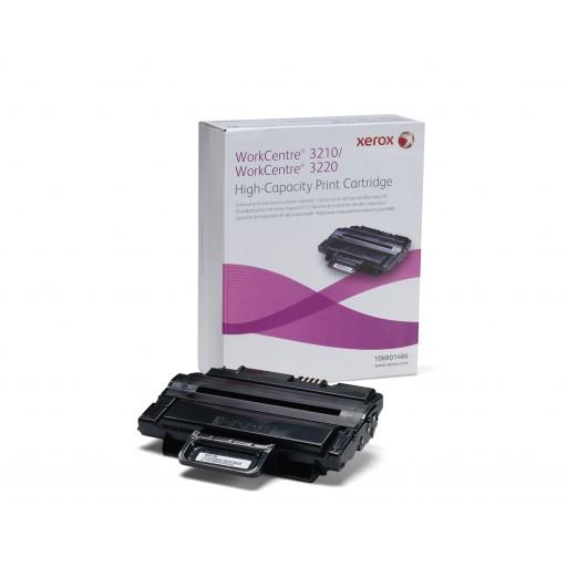 Xerox 106R01486, Toner Cartridge- HC Black, Workcentre 3210- Original