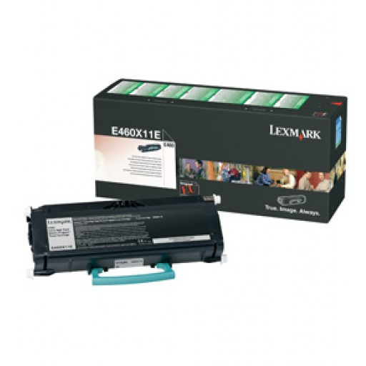 Lexmark E460X11E Toner Cartridge - Extra HC Black Genuine