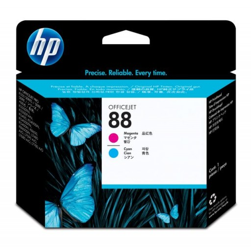 HP C9382A No.88 Magenta and Cyan Printhead Genuine