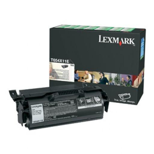 Lexmark T654X11E Toner Cartridge - Extra HC Black Genuine
