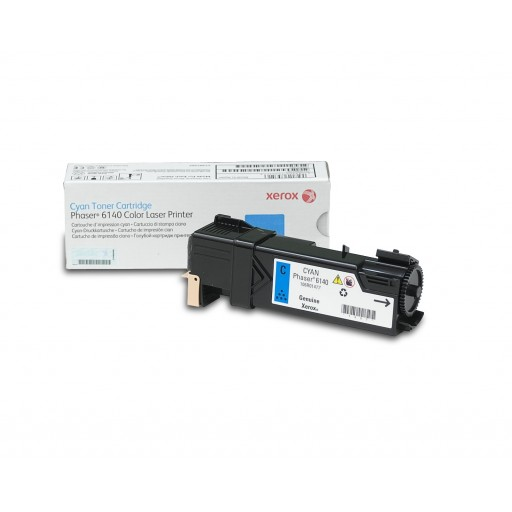 Xerox 106R01477, Toner Cartridge Cyan, Phaser 6140- Original