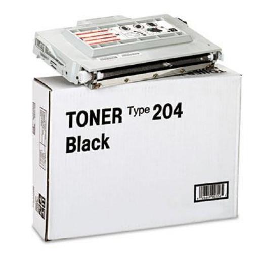 Ricoh 400316 Toner Cartridge Black, Type 204, AP204 - Genuine