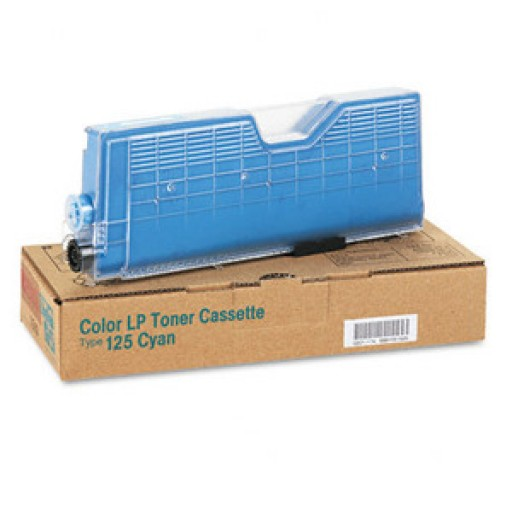 Ricoh 400839 Toner Cartridge Cyan, Type 125, CL2000, CL3000, CL3100 - Genuine