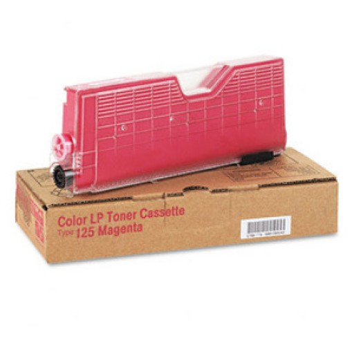 Ricoh 400840 Toner Cartridge Magenta, Type 125 , CL2000, CL3000, CL3100 - Genuine