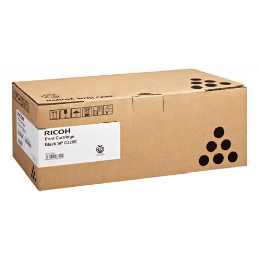 Ricoh 406094, Toner Cartridge Black, SP C220, SP C221, SP C222, SP C240- Original