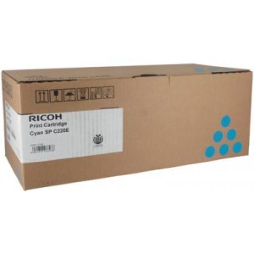 Ricoh 406053, Toner Cartridge Cyan, SP C220, SP C221, SP C222, SP C240- Original