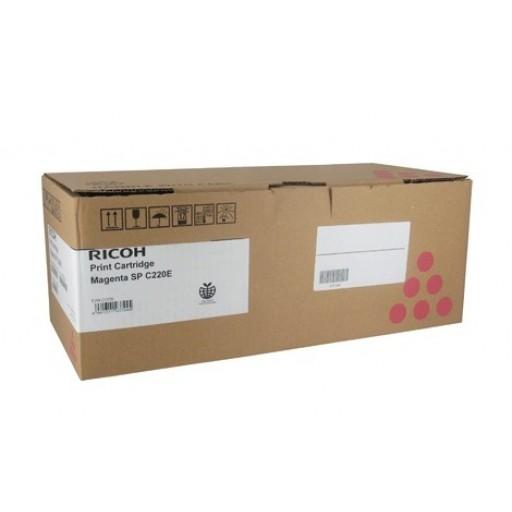 Ricoh 406100, Toner Cartridge Magenta, SP C220, SP C221, SP C222, SP C240- Original
