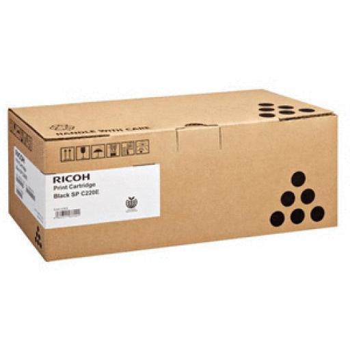 Ricoh 407166 Toner Cartridge Black, SP100, sp 112 - Genuine