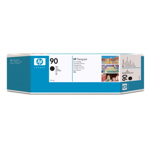 HP C5095A No.90 Ink Cartridge - HC Black Multipack Genuine