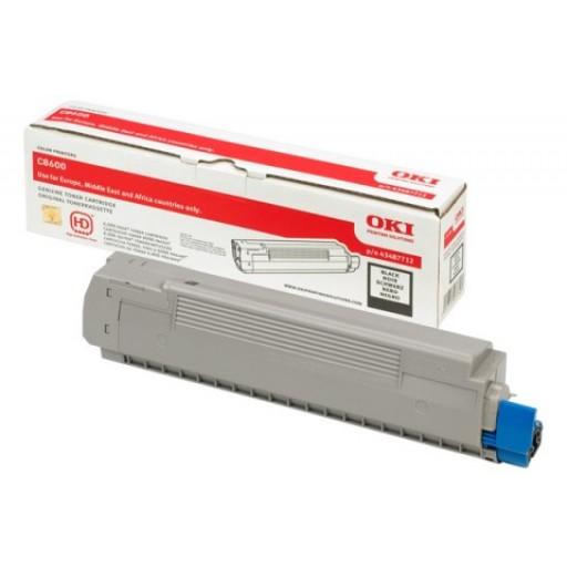 Oki, 43487710, Toner Cartridge- Magenta, C8600, C8800- Original