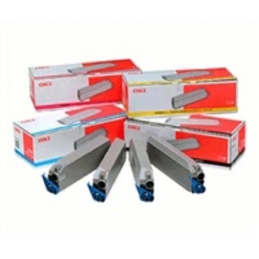 Oki 43698501 Toner Cartridge- Colour Multipack ,C8600, C8800- Genuine