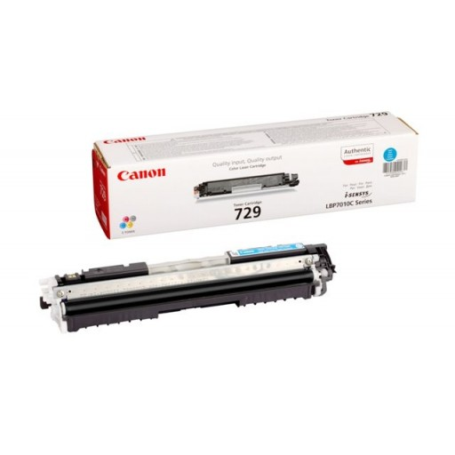 Canon 4369B002AA Toner Cartridge- Cyan, LBP7010C, LBP7018C- Genuine