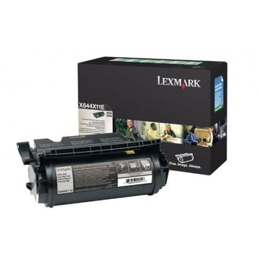 Lexmark X644X11E, Toner Cartridge Extra HC Black, X644E, X646E- Original