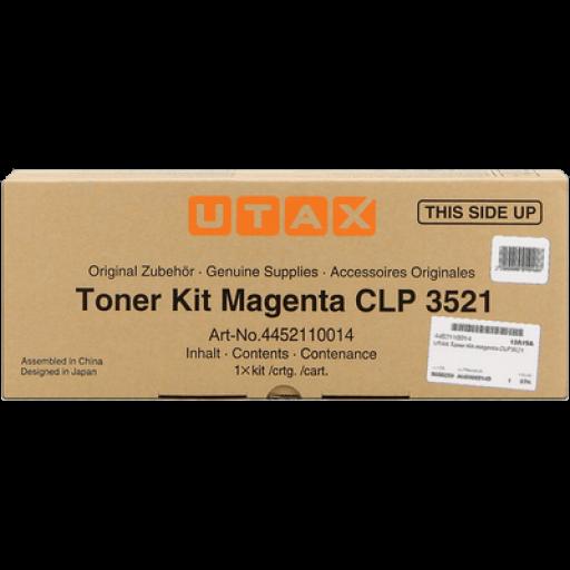 UTAX 4452110014, Toner Cartridge - Magenta, CLP 3521- Original