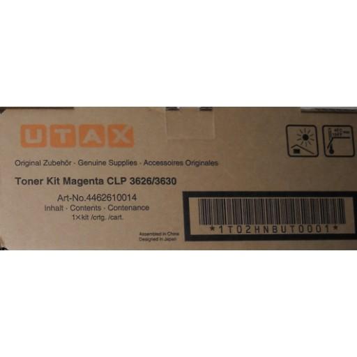UTAX 4462610014 Toner Cartridge Magenta, CLP 3626, 3630- Genuine