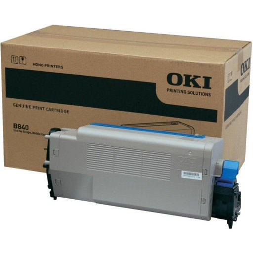 Oki 44661802, B840 Toner Cartridge - Black Genuine