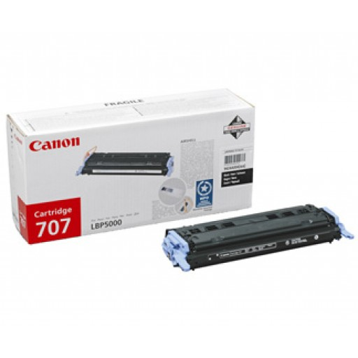 Canon 9424A004AA 707 Toner Cartridge - Black Genuine