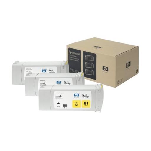 HP C5069A No.81 Ink Cartridge - Yellow Multipack Genuine