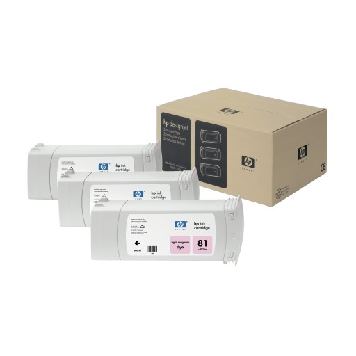 HP C5071A No.81 Ink Cartridge - Light Magenta Multipack Genuine