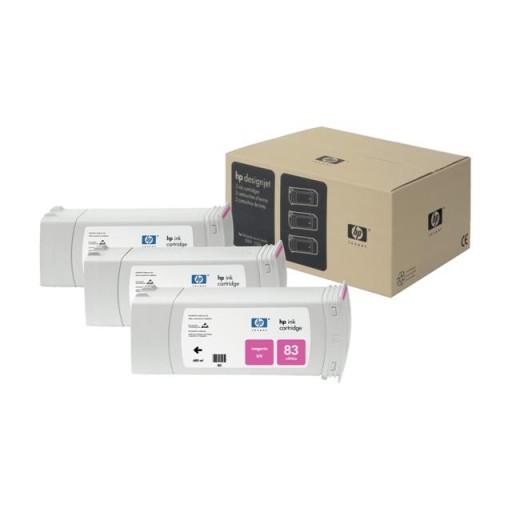 HP C5074A No.83 Ink Cartridge - Magenta Multipack Genuine