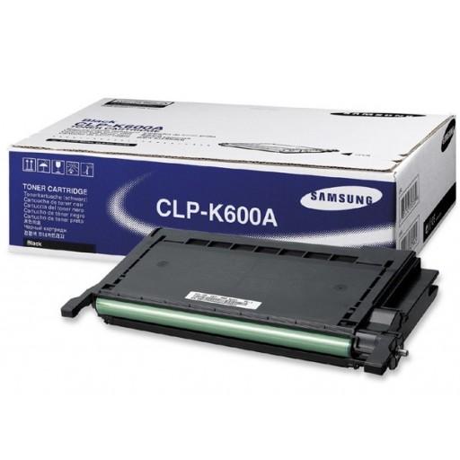 Samsung CLP-K600A Toner Cartridge - Black Genuine
