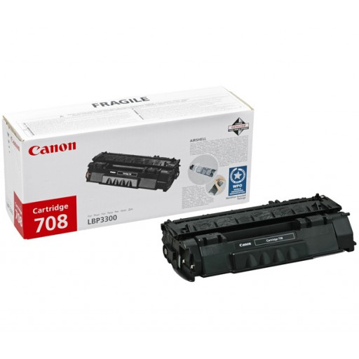 Canon 0266B002AA 708 Toner Cartridge - Black Genuine