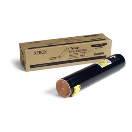 Xerox, 106R01162, Toner Cartridge- HC Yellow, Phaser 7760- Original