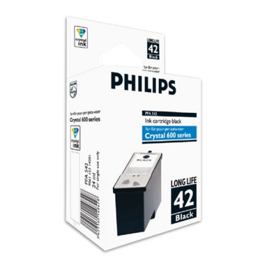 Philips PFA-542 Ink Cartridge - HC Black Genuine
