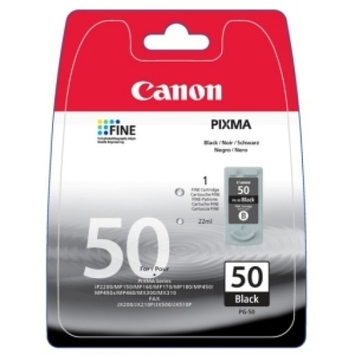 Canon 0616B027, Ink Black, FAX JX200, JX210,  PIXMA MP160, MP180, MP460, MX300- Original