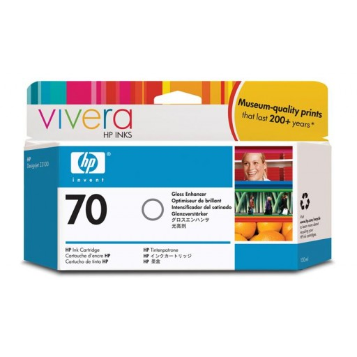 HP C9459A No.70 Ink Cartridge - Gloss Enhancer Genuine