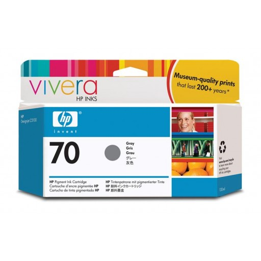 HP C9450A No.70 Ink Cartridge - Grey Genuine