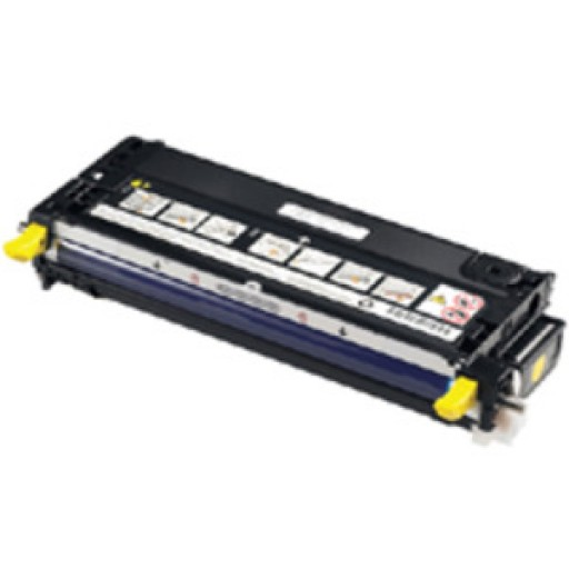 Dell 593-10173, Toner Cartridge HC Yellow, 3110cn, 3115cn- Original