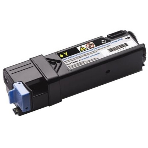 Dell 593-11036, 2150/2155 Standard Capacity Toner Cartridge - Yellow