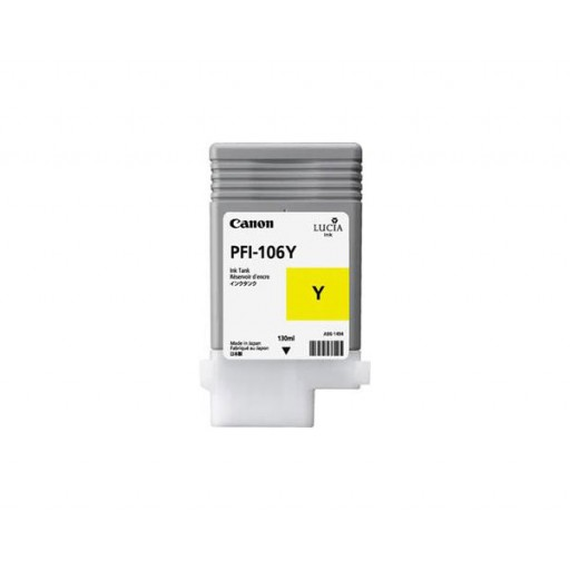 Canon PFI-106Y Ink Tank - Yellow, 6624B001AA
