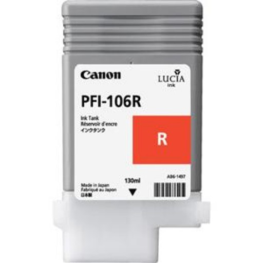 Canon IPF6400 Ink Tank - Photo Red, 6627B001AA
