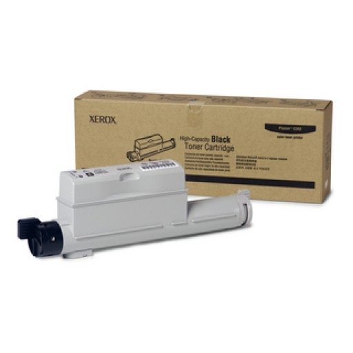 Xerox, 106R01221, Toner Cartridge- HC Black, Phaser 6360- Original