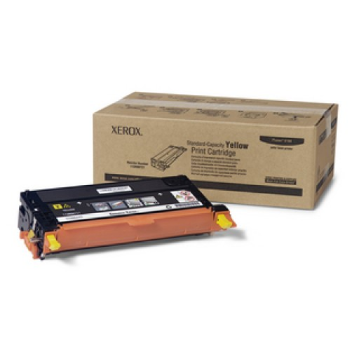 Xerox 113R00721, Toner Cartridge Yellow, Phaser 6180- Original