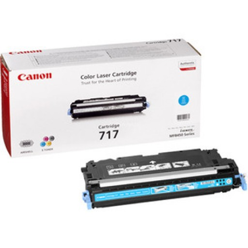 Canon 2577B002AA 717C Toner Cartridge - Cyan Genuine