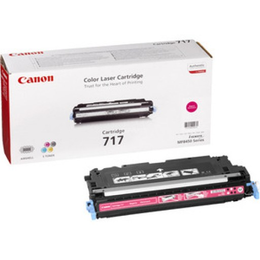 Canon 2576B002AA 717M Toner Cartridge - Magenta Genuine