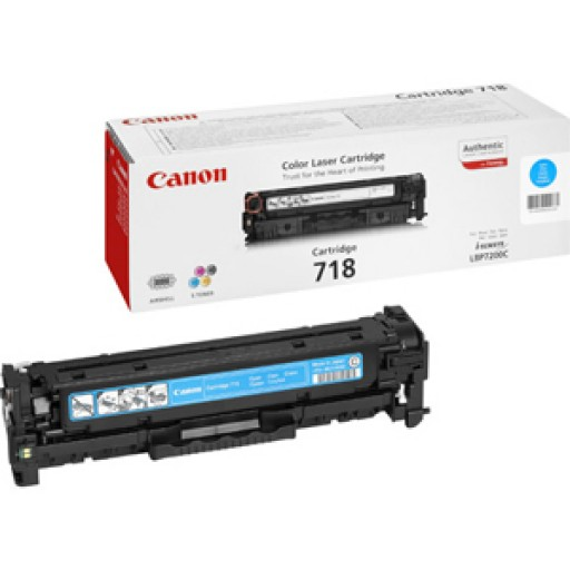 Canon 2661B002AA, Toner Cartridge- Cyan, LBP7200, 7660, MF8330, 8340- Genuine