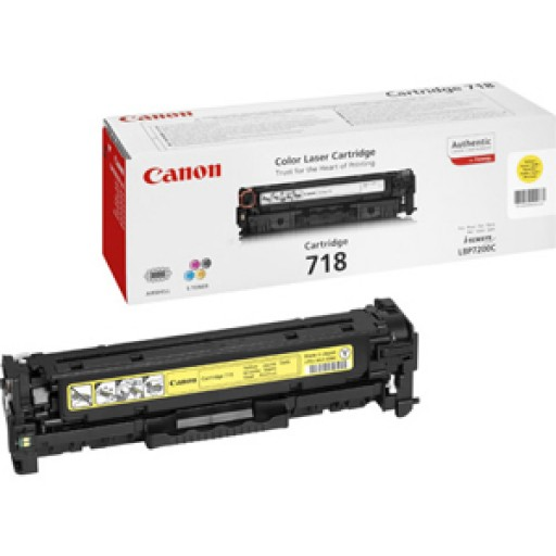 Canon 2659B002AA, Toner Cartridge- Yellow, LBP7200, 7660, MF8330, 8340- Genuine